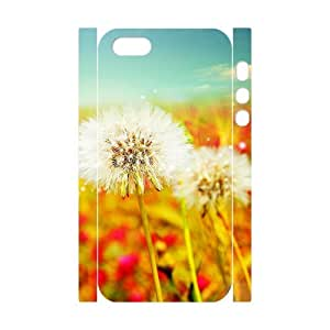 DDOUGS Dandelion Brand New Cell Phone Case for Iphone 5,5S, DIY Iphone 5,5S Case