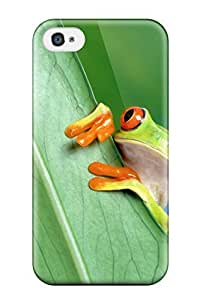 Marcella C. Rodriguez's Shop 2819378K45706162 New Frog Skin Case Cover Shatterproof Case For Iphone 4/4s
