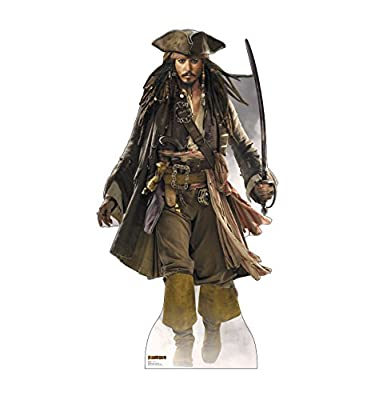 Advanced Graphics Disney's Pirates of the Caribbean Life Size Cardboard Standup