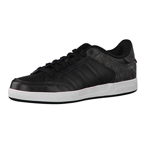 Adidas Kiel Zapatillas de Skateboarding, Hombre, Negro (Negbas/Ftwbla/Carbon), 39 1/3 EU (6 UK)