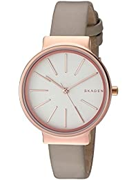 Womens SKW2481 Ancher Beige Leather Watch
