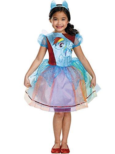 Rainbow Dash Deluxe Costume, Small (4-6x) -