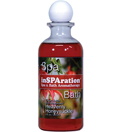 inSPAration Spa and Bath Aromatherapy 118X Spa Liquid, 9-Ounce, Heavenly Honeysuckle