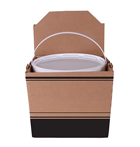 Southern Champion Tray 2783 One Gallon Soup or Side Catering Container, Includes Plastic Tub and Lid, 8-1/4