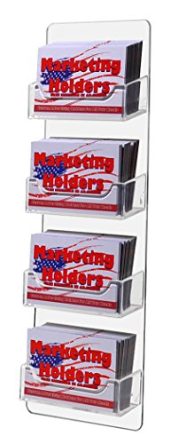 marketing-holders-clear-4-pocket-business-card-holder-vertical-wall-mount