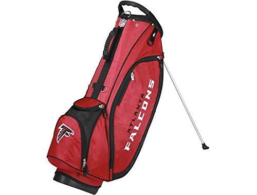 Wilson NFL Atlanta Falcons Carry Golf Bag, Red/Black, One Size
