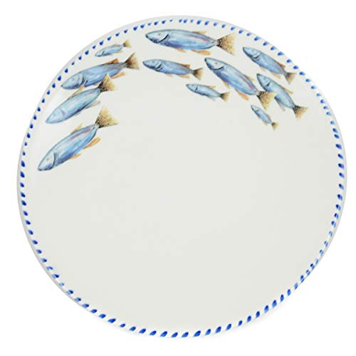 Abbiamo Tutto Lake Fish (School of Fish) Dinner Plate (Dinner Fish)