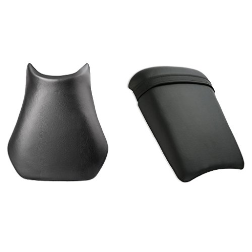 Front Rider Driver Rear Passanger Seat Pillion Cushion For Yamaha YZF R1 -