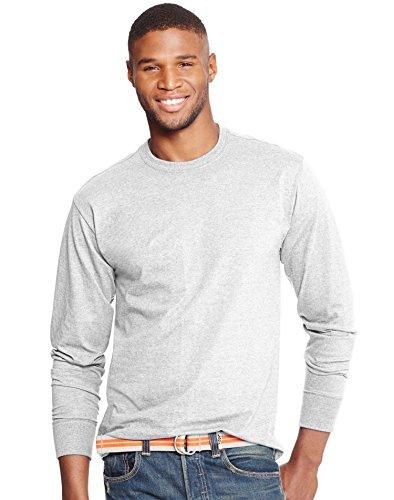 Hanes X-Temp Mens Long-Sleeve T-Shirt O5716, 3XL, White