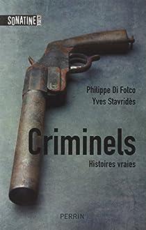 Criminels par Di Folco
