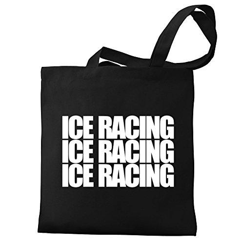 Eddany Ice Racing three words Bereich für Taschen