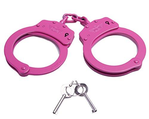 UZI HC C Pink High Tensile Steel Handcuffs product image