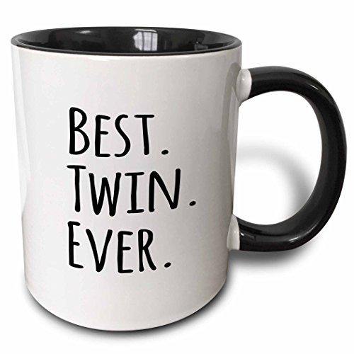 3dRose Best Twin Ever mug 151545 4