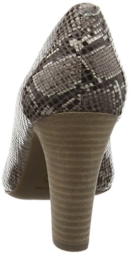 Geox D New Mariele High A - Tacones Mujer Gris - Grau (SMOKE GREYC9006)