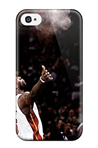 Hot Lebron James First Grade Tpu Phone Case For Iphone 4/4s Case Cover