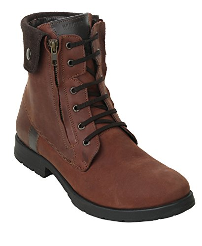 Liberty Men's Genuine Leather Lace Up Closure Fashion Ankle Boots 1.5 Inch Heels,Brown,13 D(M) US by Liberty Footwear