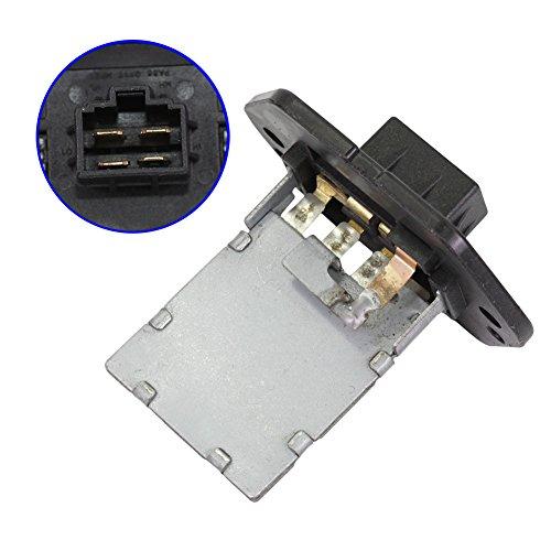 DOICOO Blower Motor Resistor HVAC Replaces 97035-3D000 for Hyundai Elantra Sonata Tiburon Tucson Santa Fe Kia Optima Soul Selected 2001 2002 2003 2004 2005 2006 2007 2008 2009 2010 2011 2012 2013 (Resistor Blower Replace)
