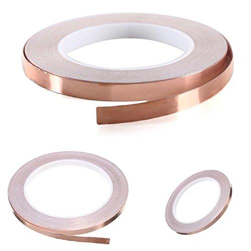 6mm-x-20m-single-face-adhesive-electric-conduction-copper-foil-tape-emi-shielding-guitar-slug-and-sn