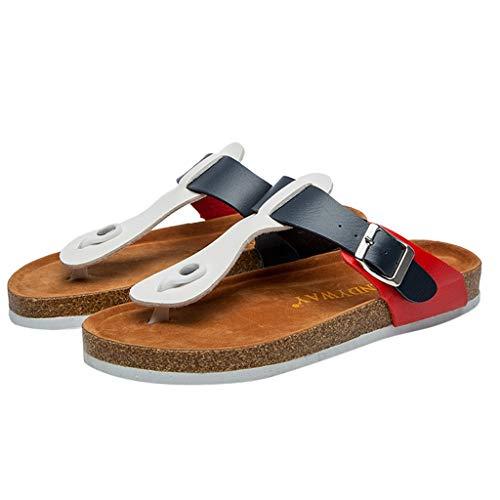 Playa Chanclas Verano Plataforma Zapatillas Zuecos On Mujer Mules 6Z7gafq