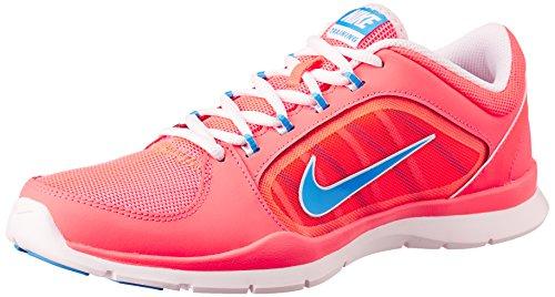 Nike Flex Trainer 4 643083 Damen Laufschuhe Rot (Hypr Pnch/Hrtg Bl-Arctc Pnk-Ar)