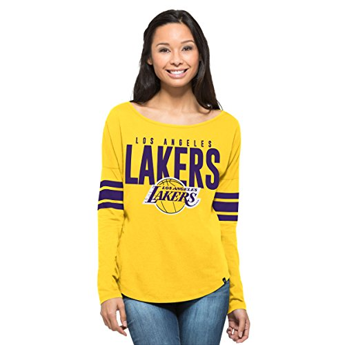 Courtside Cap - '47 NBA Women's Courtside Tee, X-Small, Galley Gold