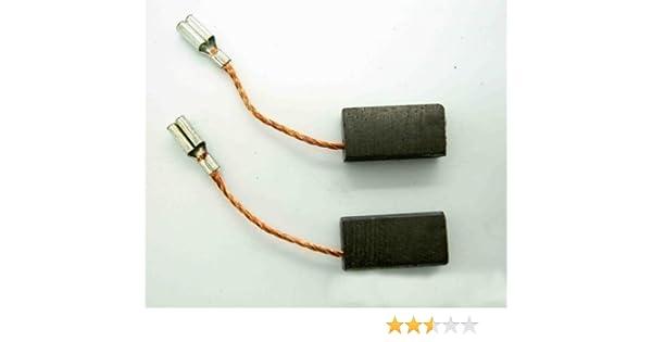 Escobillas de carbono compatibles con amoladora Bosch GWS 6-115 GWS 670 GWS 850 C GSC 160 de 5 x 8mm BS5: Amazon.es: Bricolaje y herramientas
