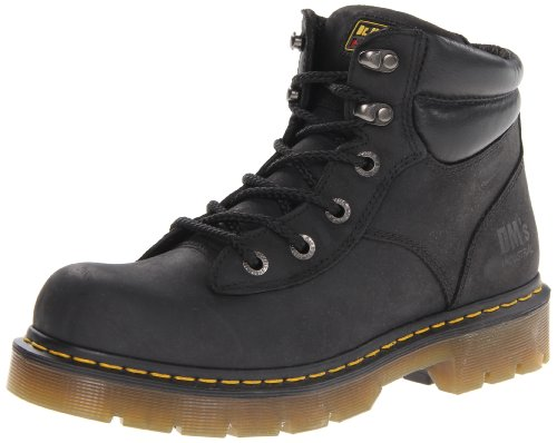 Men's Up Lace Black Martens Boots Burnham Dr z5xZYqY