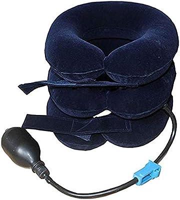 Funwill Cuello cervical inflable Tracción cuello Cuello camilla ...