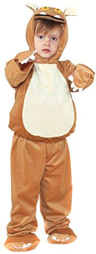 Girls Boys Childrens The Gruffalos Child Animal World Book Day Week TV Book Film Fancy Dress Costume 3-10yrs (3-5 -