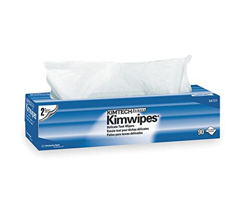 Kimberly-clark 34721 Kimwipes 2-Ply Delicate Task Wipes, ...