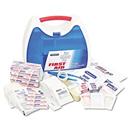 ReadyCare First Aid Kit for up to 25 People, 182 Pieces/Kit, Sold as 1 Kit