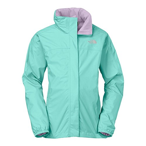 The North Face Resolve Reflective Jacket Girls Bonnie Blue YL