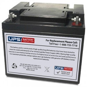 Hisel Power SP12-50 12V 50Ah Sealed Lead Acid Replacement Battery