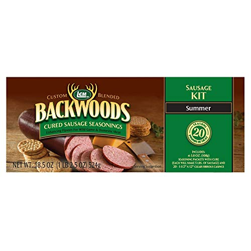 LEM Backwoods Cured Summer Sausage - Mountain Hi Sausage Kits