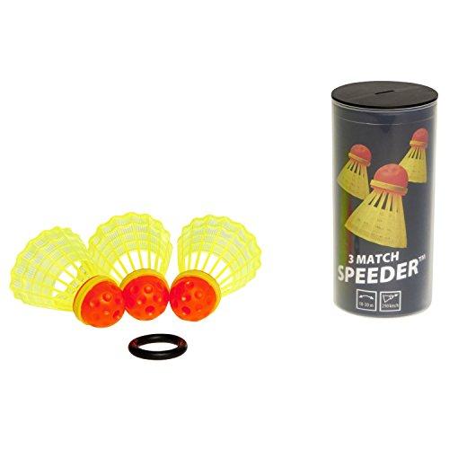 Speedminton Match Speeder Tube (3 Pack)