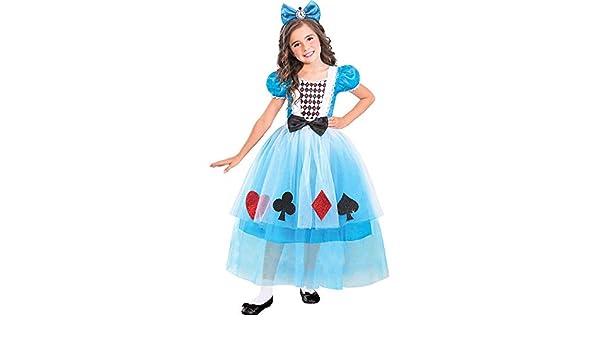 amscan Disfraz de Alicia en el País de las Maravillas para niñas ...