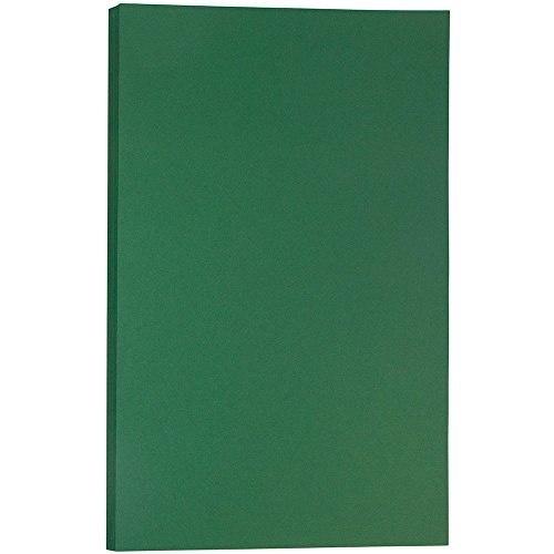 Ultra Premium Photo Paper Letter - JAM PAPER Legal Matte 28lb Paper - 8.5 x 14 - Dark Green - 500 Sheets/Pack