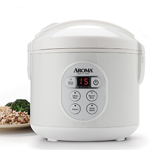Ap Exit 9 Digital Rice Cooker Electric soup pot, Slow Cooker, Food Steamer (Nutribullet As Seen On Tv)