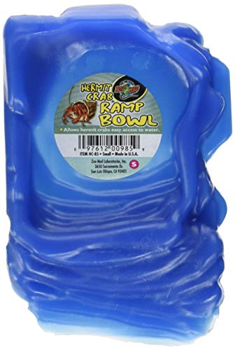 - Zoo Med Hermit Crab Ramp Bowl, Small, Color:Assorted