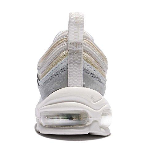Nike Heren Air Max 97 Premium, Licht Puimsteen / Top Wit, 12 M Ons