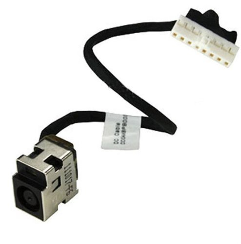 New AC DC Power Jack Plug Socket Cable Harness for HP Pavilion G62-100EB G62-100EE G62-100SL G62-101TU G62-101XX G62-103XX G62-110EE G62-120EL G62-120SL G62-125SL G62-130SL G62-140EL G62-140US G62-143CL G62-144DX G62-145NR G62-147NR G62-149WM (423 Pin Socket)