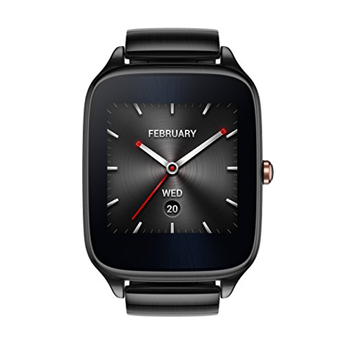 ASUS ZenWatch 2 WI501Q-GM-GR-Q 1.63-inch AMOLED Smart Watch with  Quick Charge - GRAY METAL