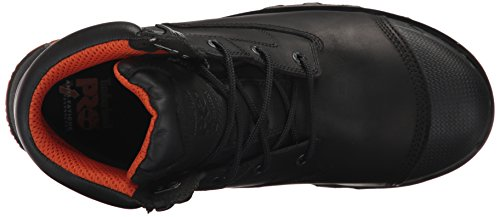 Timberland PRO Men's Boondock 6'' Composite Toe Waterproof Industrial and Construction Shoe, Black Full Grain Leather, 10 M US by Timberland PRO (Image #8)
