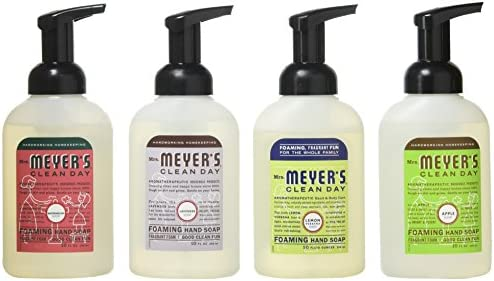 Mrs. Meyers Clean Day 4-Piece Foaming Hand Soap Variety Pack (Pack - 1) (Pack - 1)