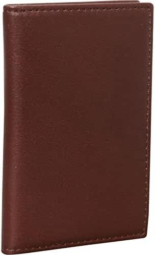 Royce Leather Hanover RFID Blocking Card Case (Coco)