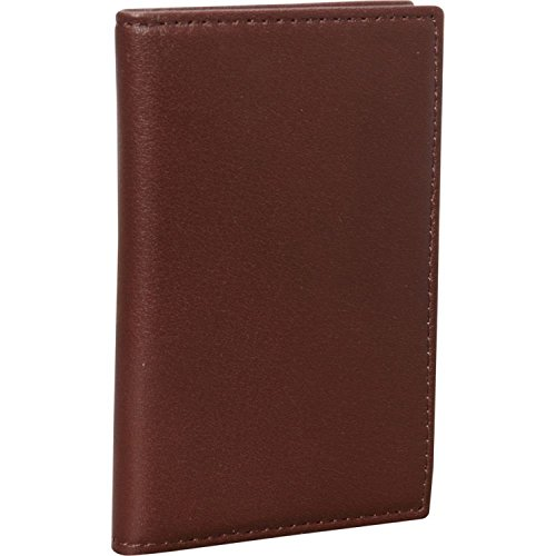 Royce Leather Hanover RFID Blocking Card Case - Passport Case Calf Large