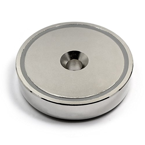 Super Magnet Man - CMS Magnetics Neodymium Cup Magnet 405 lb Pulling Force Super Powerful, 0.7