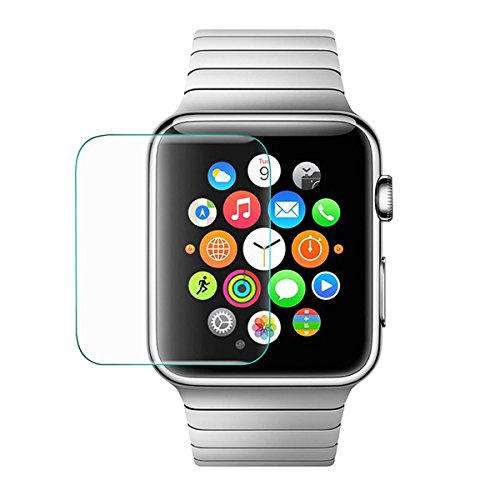BisLinks® Tempered Glass Screen Protector Anti-Scratch Guard Repair for Apple Watch 38mm