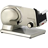 Chef'sChoice 615A Electric Meat Slicer Features Precision...