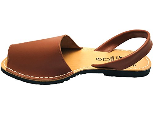 AVARCAS 101 Avarcas Women's Flat Leather Summer Sandals Brown clearance 2015 new cheap Inexpensive sale official site 60ySLT